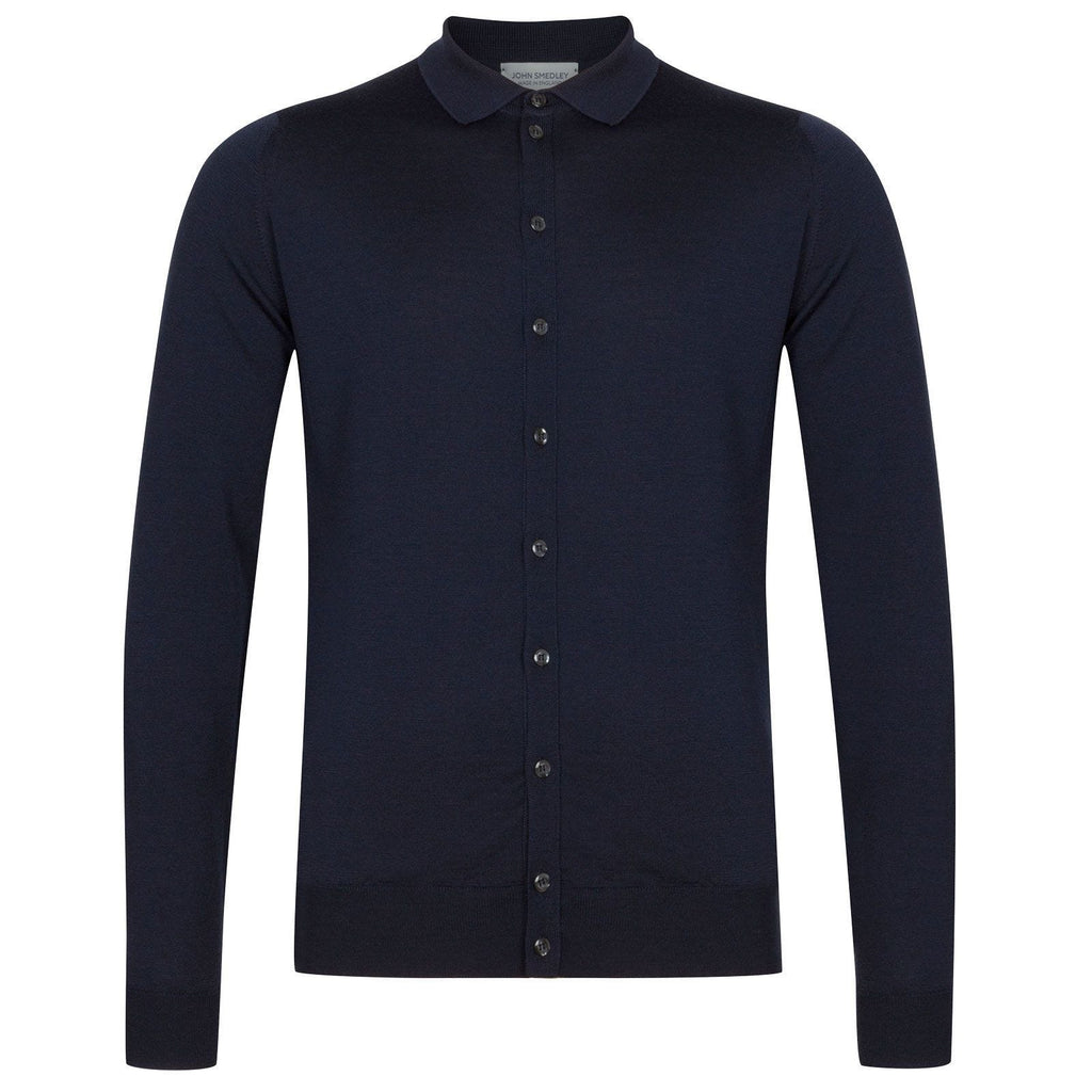 Roston Midnight Button Through Shirt
