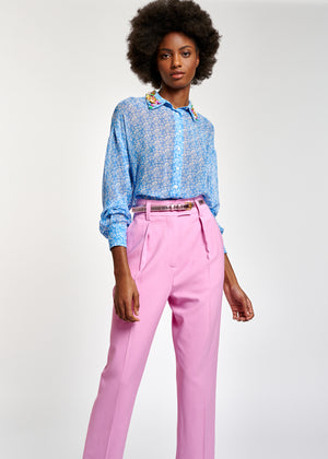 Zossa Embellished Collar Shirt