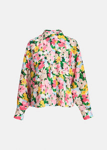 Zunco Multicoloured Floral Print Shirt