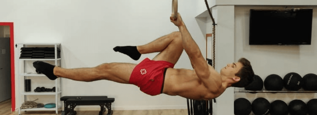front lever une jambe
