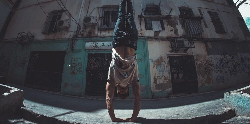 handstand street workout calisthenics