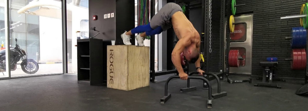 pike push up parallettes
