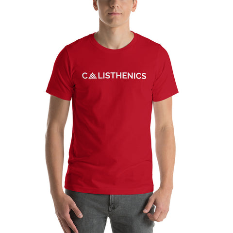 T-shirt Calisthenics Red Edition