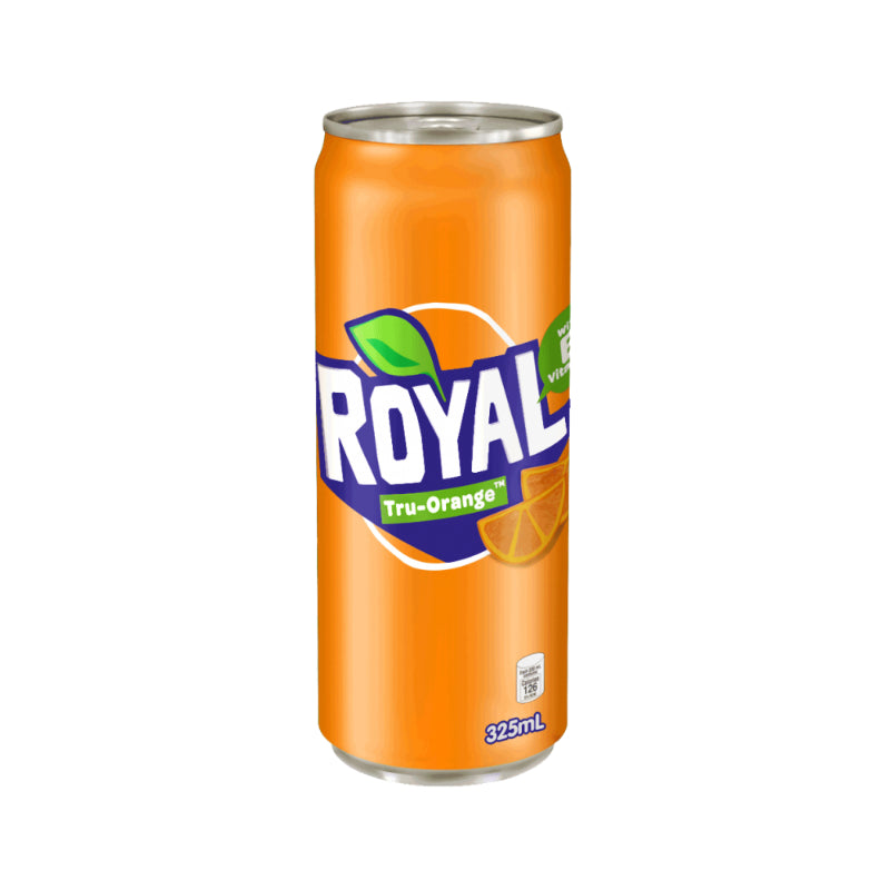 Royal Tru Orange in can