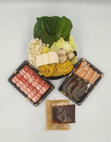 Pork & Seafood Shabu Shabu Set (Good for 2-4pax)