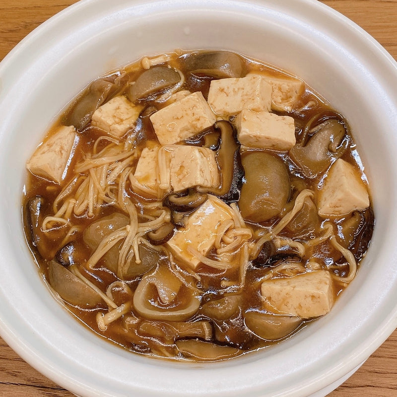 Beancurd w/ 3 Kinds of Mushroom