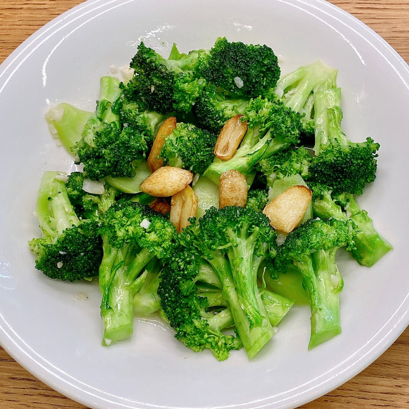 Brocolli w/ Garlic