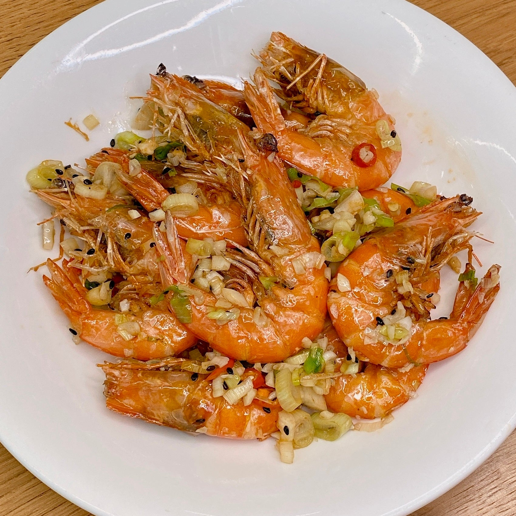 Crispy Salted Shrimps