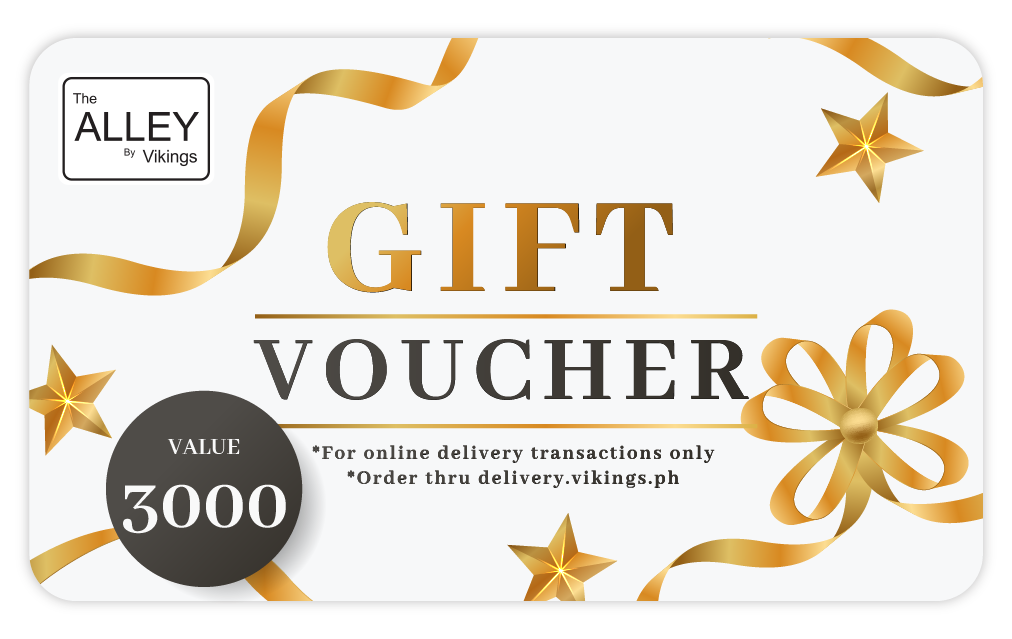 The Alley Gift Voucher