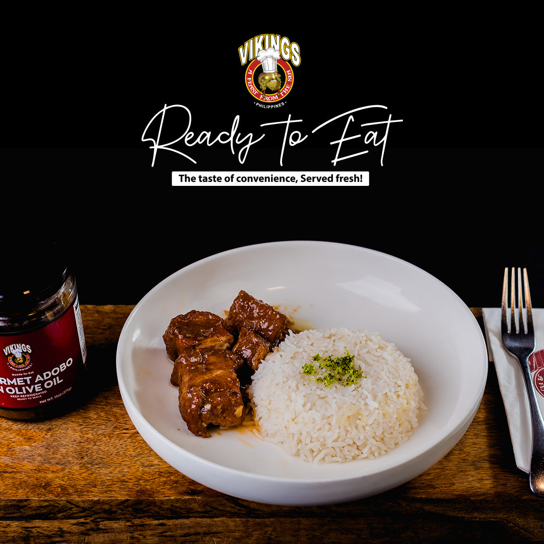Gourmet Adobo in Olive Oil
