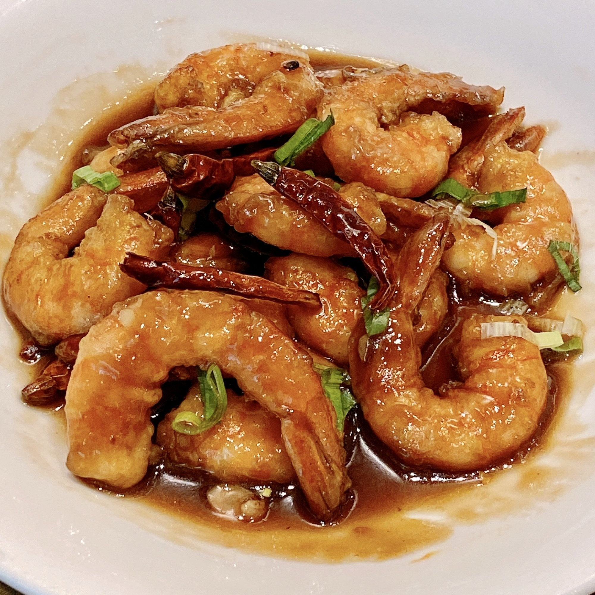 Kong Pao Shrimps