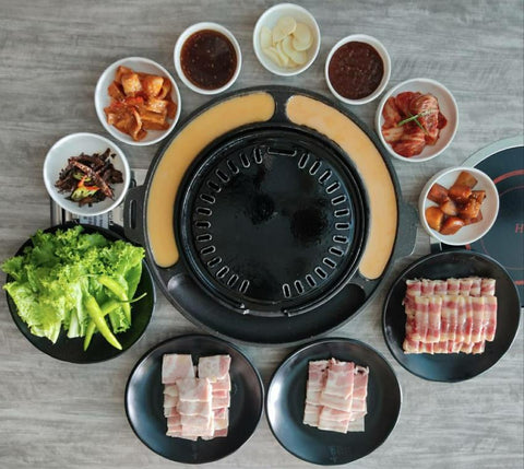 PORK & BEEF BARBEQUE SET (Good for 2-4 pax)