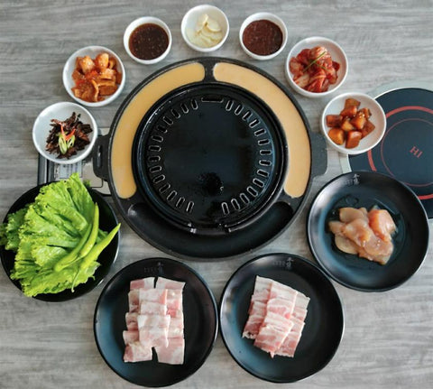 PORK & CHICKEN BARBEQUE SET (Good for 2-4 pax)