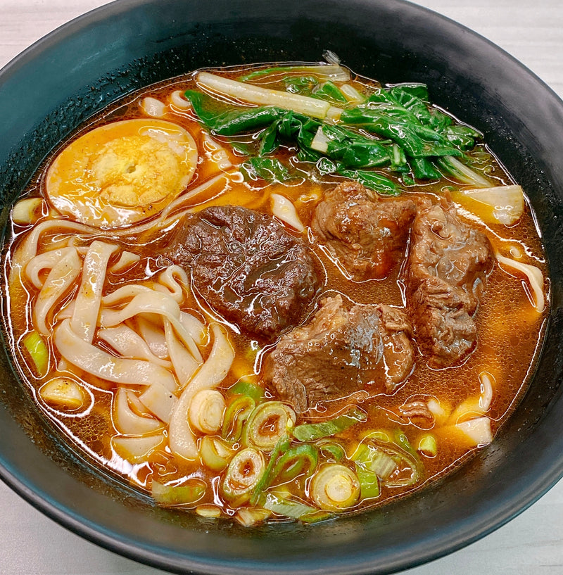 Taiwan Spicy Beef Noodle