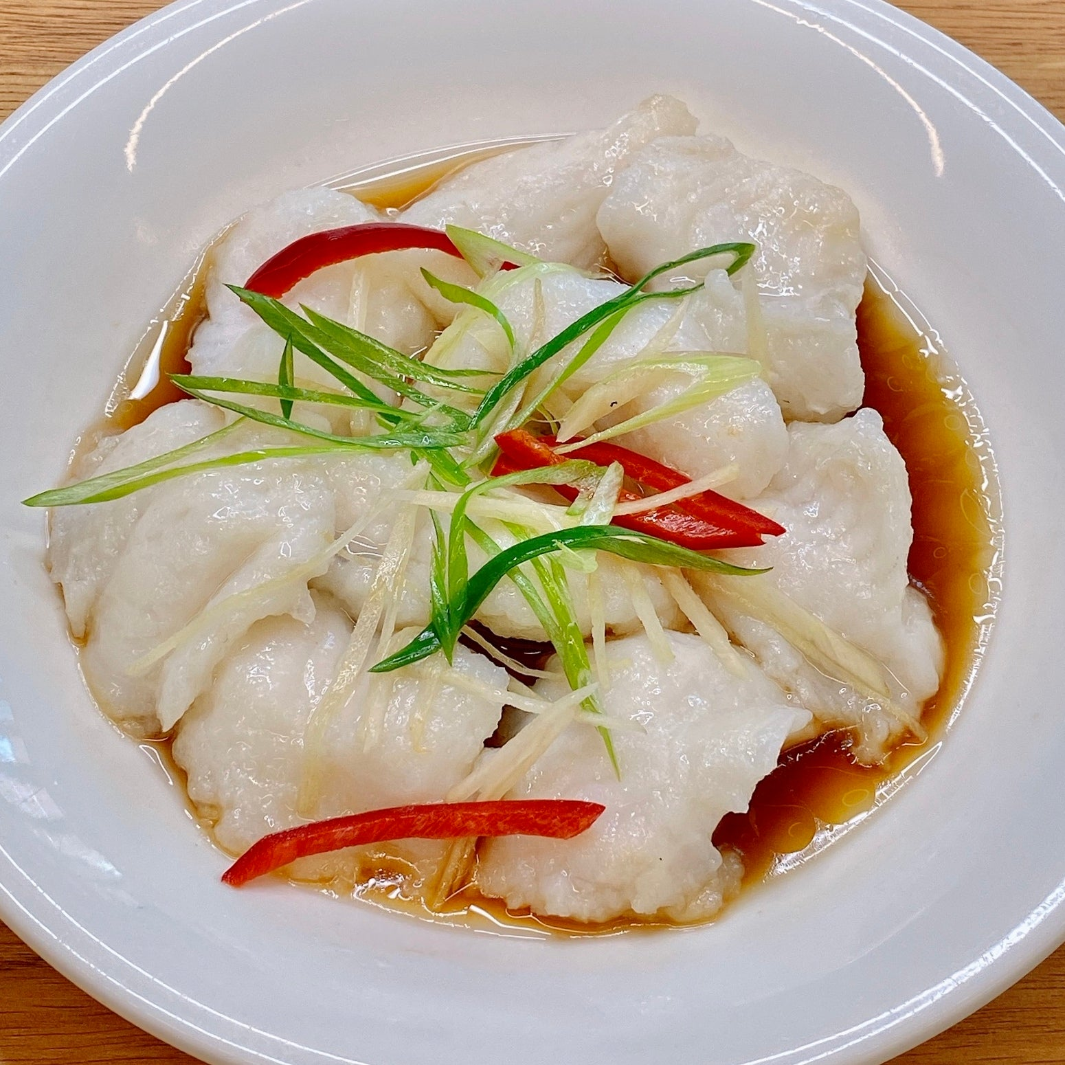 Steamed Fish Fillet w/ Superior Sauce