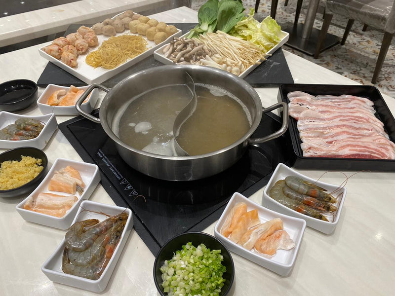Pork & Seafood Hotpot (Good for 2-4 pax)