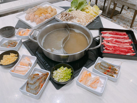 Beef & Seafood Hotpot (Good for 2-4 pax)