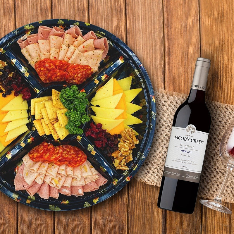 GRAZED PLATTER WITH RED WINE