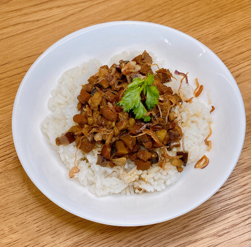 Adobo Pork w/ Rice