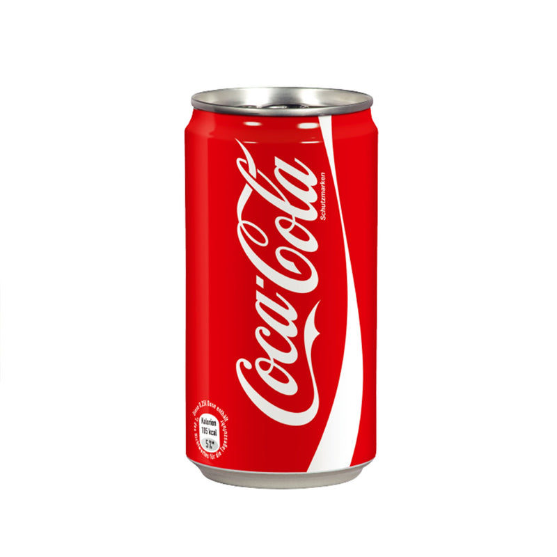 Coke in can