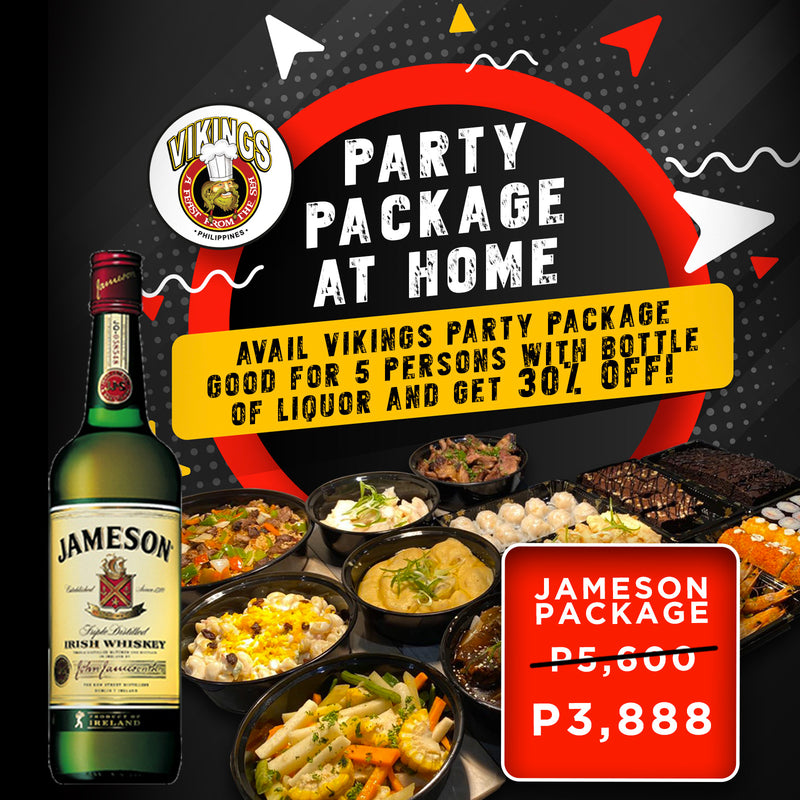 Vikings SM Pampanga - Jameson Package