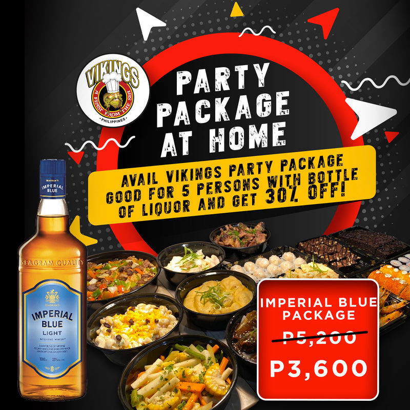 Vikings SM Pampanga - Imperial Blue Package