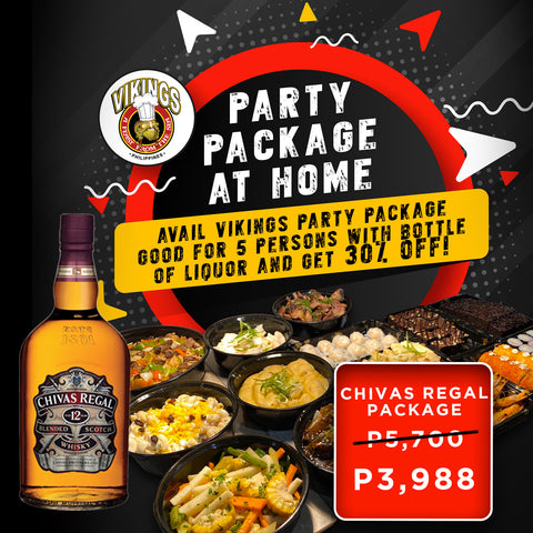 Vikings SM Pampanga - Chivas Package