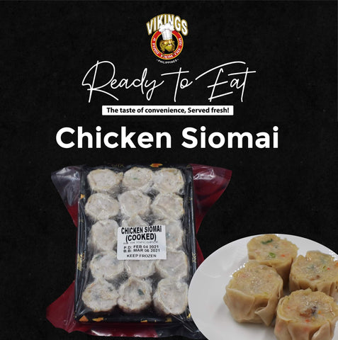 Frozen Chicken Siomai (12pcs. per pack)