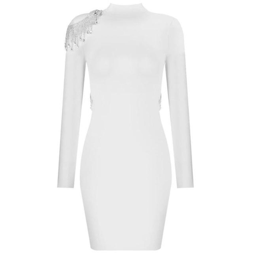 MAISON2 Bandage Diamond Dress - Inamore