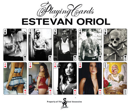 Estevan Oriol Playing Cards Limited Edition