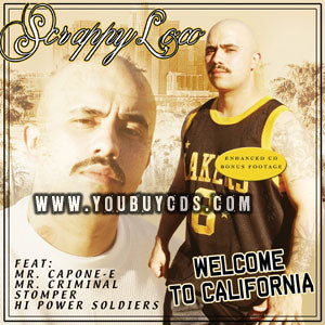 Hi Power Scrappy Loco Welcome to California