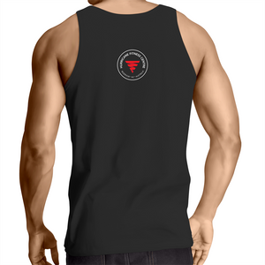 'Installing Muscles' Mens Singlet Top (Dark)