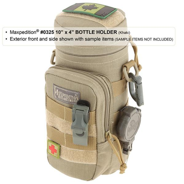 "Maxpedition 10"" x 4"" Bottle Holder"