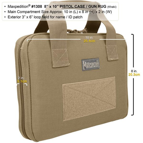 "Maxpedition 8"" x 10"" Pistol Case/Gun Rug"