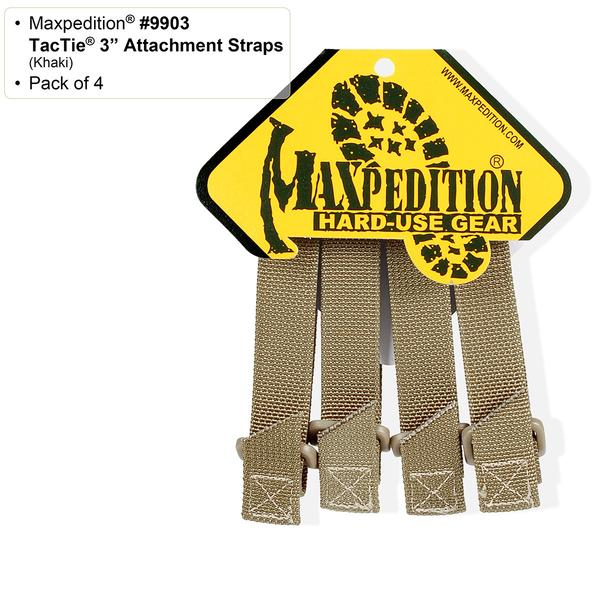 "Maxpedition 3"" TacTie (Pack of 4)"