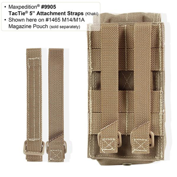 "Maxpedition 5"" TacTie (Pack of 4)"