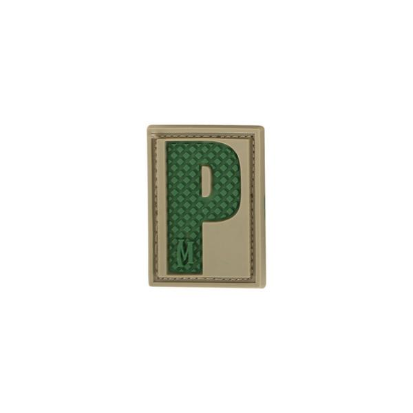 Maxpedition Letter P Morale Patch