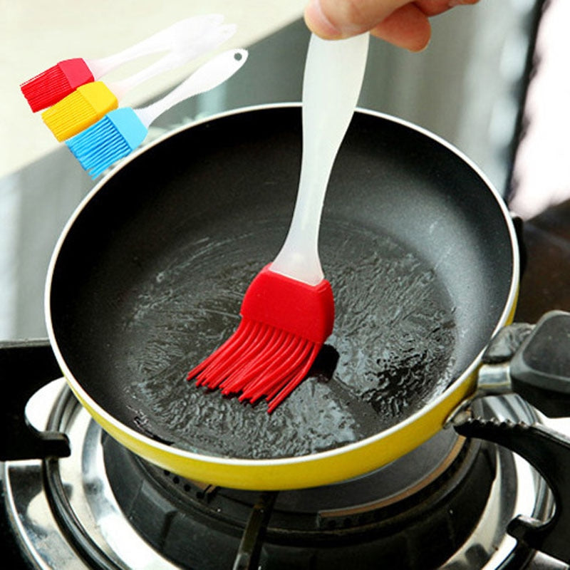Silicone baking soup bbq brush