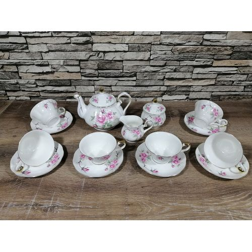 Ufengke 15 Pièces - European Bone - Coffee cup Set - Bargainland.tn