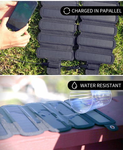RD Folding Solar Charging Panel | Suitable for all battery charging-RD Infinity Tech
