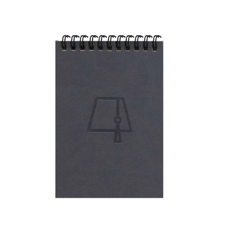 Grey Fez Tarboosh A6 Spiral Notepads (Ruled)
