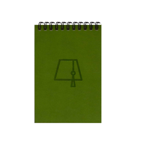 Khaki Green Fez Tarboosh A6 Spiral Notepads (Ruled)