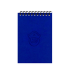 Royal Blue Pirate A6 Spiral Notepads (Ruled)