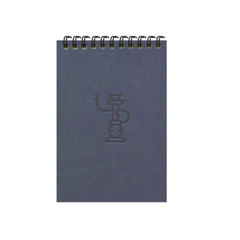 Grey Shisha A6 Spiral Notepads (Ruled)