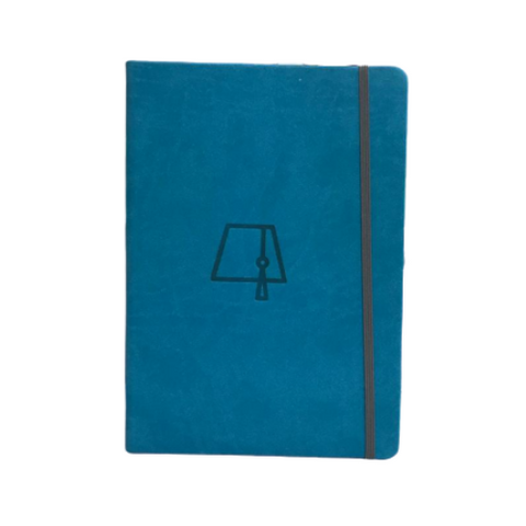 Light Blue Fez Tarboosh A5 Elastic Notebooks (Ruled)