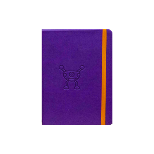 Purple Silly Monsters A6+ Undated Weekly Diaries