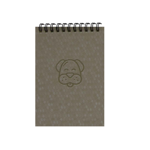 Silver Dog A6 Spiral Notepads (Ruled)