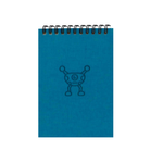 Silly Blue Monsters A6 Spiral Notepads (Ruled)