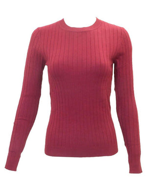 24/7 Ribbed Long Sleeve Sweater