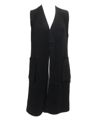 Wear & Flair Long Cardigan Vest Front